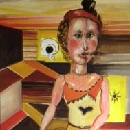 La fumatrice 1978