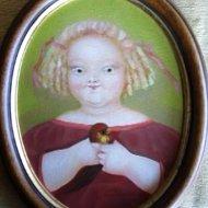 Carlotta- ovale  olio-su-tela-1998