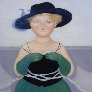 Il grande cappello blu