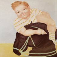 le-petit-chevalier-olio-su-tela-50x60-2000_