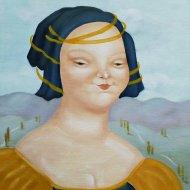 Isabella    olio su tela 30x40     1997