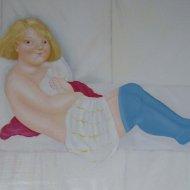 le-calze-azzurre-olio-su-tela-50x70-2006