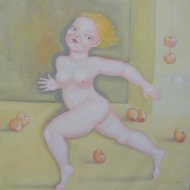 3le-mele-di-eva-olio-su-tela-70x70-2009