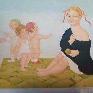 Il giudizio di Venere olio su tela 55x85   2005