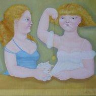 il-ciondolo-olio-su-tela-50x60-2007