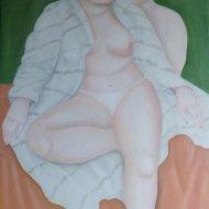 Intimità     olio su tela  45x90      2009