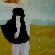 Nostalgia del Rinascimento     olio su tela 60x80     2012