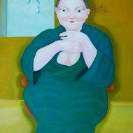 la-pazienza-olio-su-tela-50x70-2011