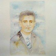 Luis  Acquerello con matita2019