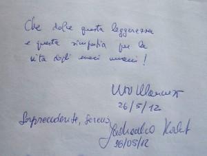 Commento di Vito Mancuso
